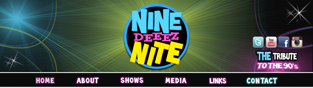 90's Cover Band - Nine Deez Nite - THE Tribute to the 90's